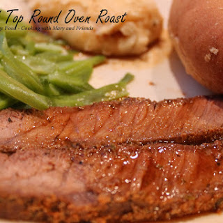 Seasoned Top Round Oven Roast