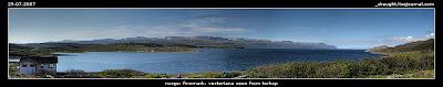 norge, finnmark, vestertana seen from torhop
