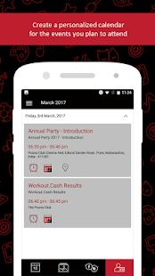 Extentia Event Calendar - náhled
