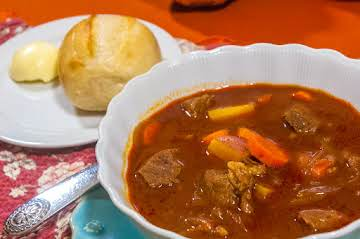 Cold Weather Comfort Food: Hungarian Goulash