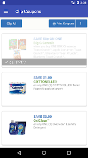 Clip Coupons- screenshot thumbnail