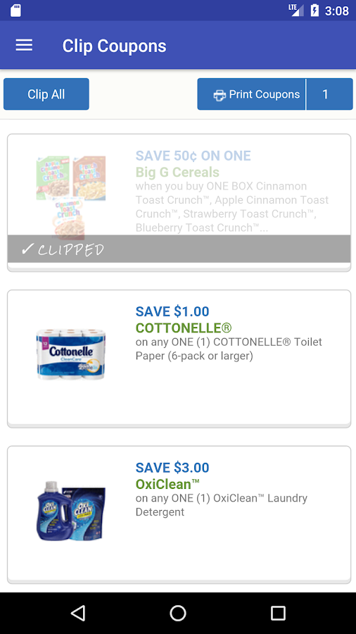 Clip Coupons- screenshot