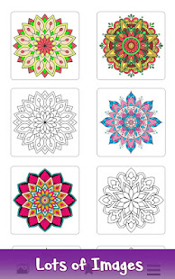 Adult Color by Number Book - Paint Mandala Pages - Apps on Google Play