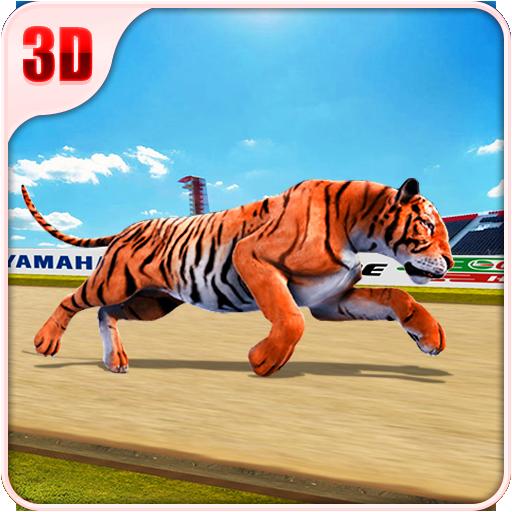 Wild Tiger Racing Fever : Animal Racing Game