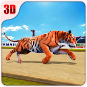 Wild Tiger Racing Fever : Animal Racing Game