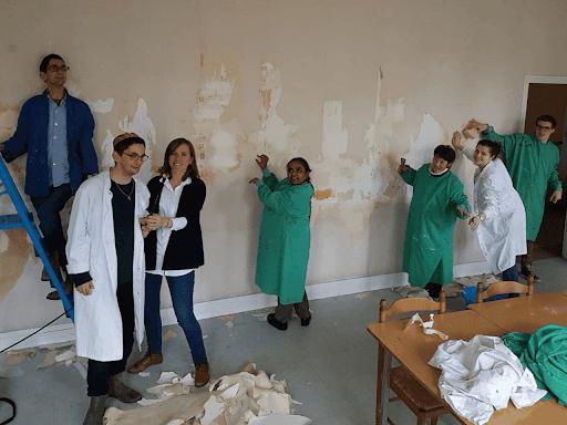 Aménagement du nouveau SAJ de L'Arche à Reims
