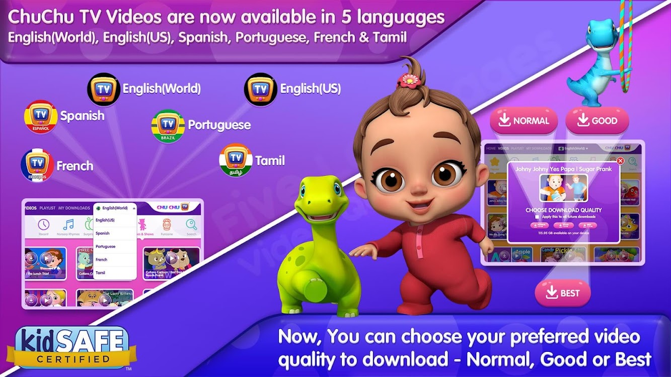 ChuChu TV Nursery Rhymes Videos Pro - Learning App – (Android Apps