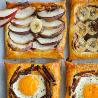 Breakfast Puff in 3 Ways