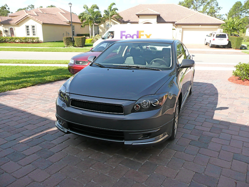new scion tc rs 4 0 with damd body kit and alcantra. Black Bedroom Furniture Sets. Home Design Ideas