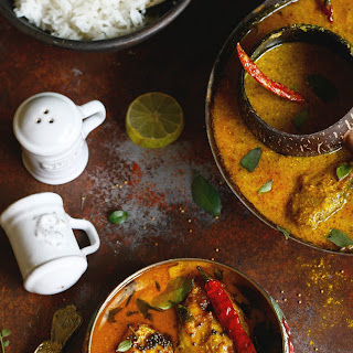 Fish Curry In A Light Mustard Sauce.