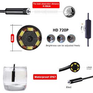 Camera endoscop Wireless 3 in 1, cablu 5 metri