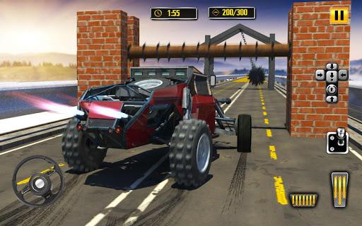 Deadly Car Crash Engine Damage: Speed Bump Race 18 screenshot 8