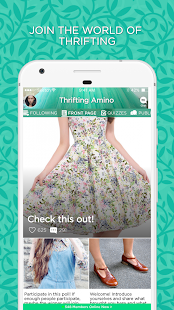 Thrifting Amino - náhled