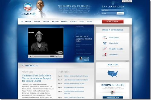 FireShot capture #5 - 'Barack Obama I Change We Can Believe In I Home' - www_barackobama_com_index_php