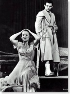 Barbara Bel Geddes and Ben Gazzara in Cat on a Hot Tin Roof