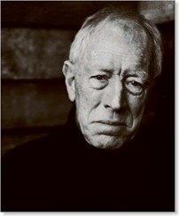 The actor Max Von Sydow photographed by Julian Schnabel.