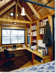 Photo of Michael Pollan's Writing House taken by John Peden