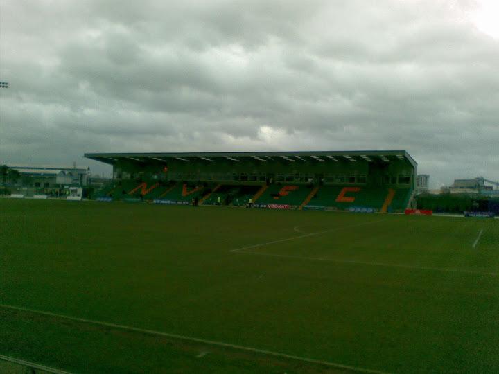 The Main stand; Victoria Stadium
