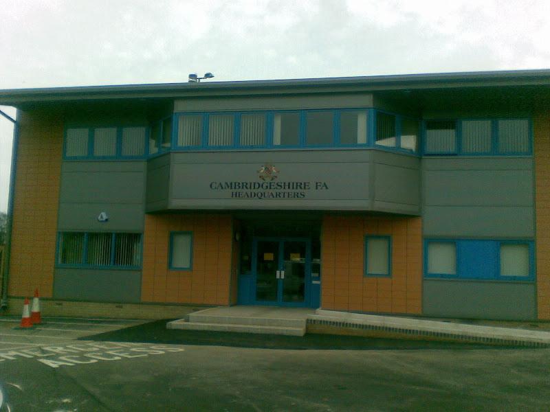 Passing the Cambridgeshire FA HQ