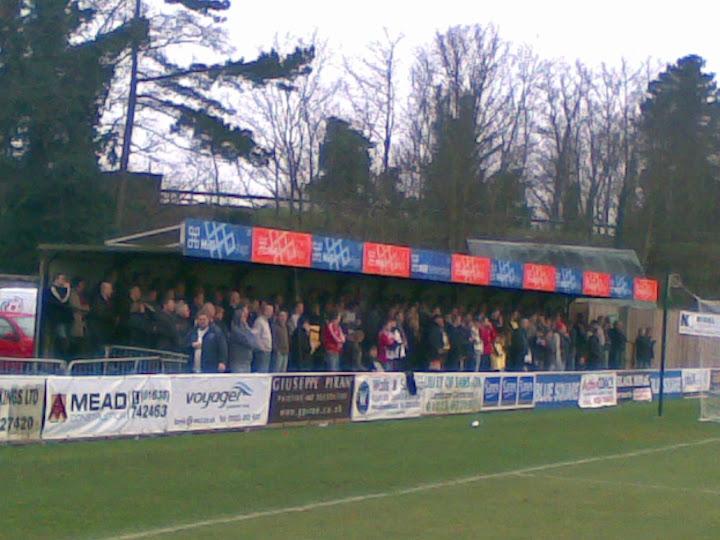 Rushden fans @ Histon