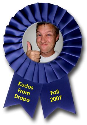 Kudos From Drape - Fall 2007