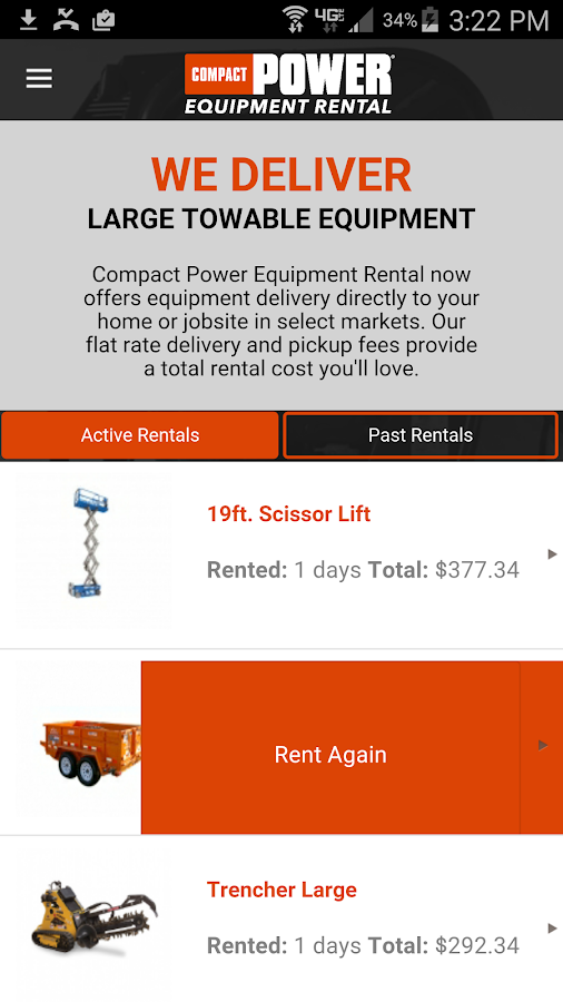 Compact Power Rentals- screenshot
