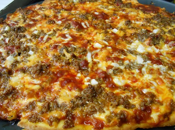 Thin Crust Beef Enchilada Pizza Recipe