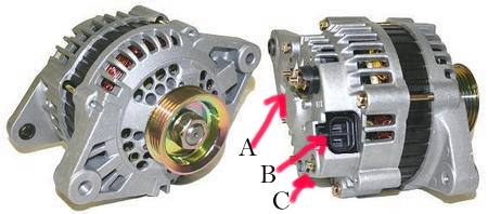 wanted newer style mitsubishi alternator plug pigtail datsun the wiring pigtail plug that goes into the alt found on later model mitsubish made alternators i think it s the same plug used by nissan in many