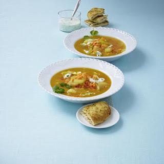Dahl Lentil Soup with Yogurt