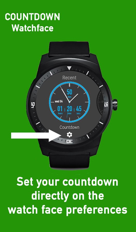 Countdown Watch Face