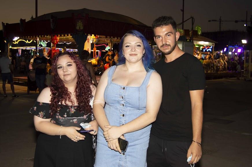 Gabriel, Andrea y María
