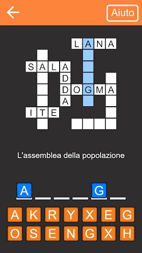 Cruciverba gratis Italiano 1.10.0 screenshots 1