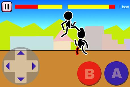 Fighting games Mokken: stick man battle 3