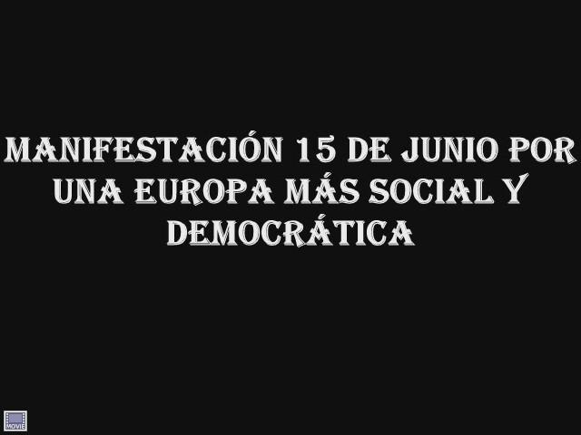 Video: POR UNA EUROPA MÁS SOCIAL Y DEMOCRÁTICA