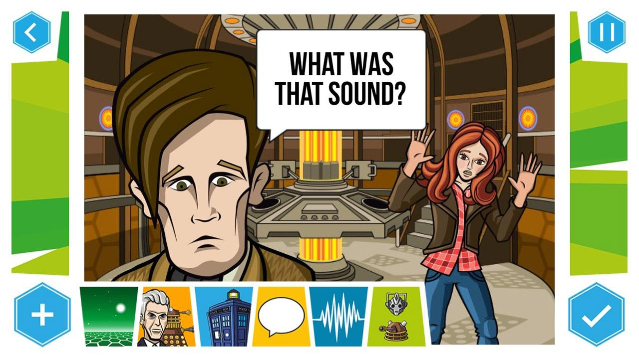 Doctor Who: Comic Creator- screenshot