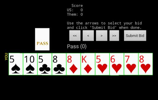 Five Hundred US Beta 3.1 screenshots 1