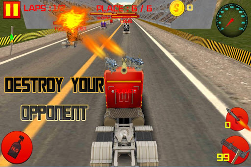 Real Truck Death Racing Game3D