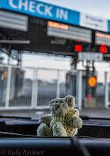Photo: Reissunalle malttamatottomana odottaa...