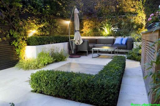 정원 디자인 장식 아이디어