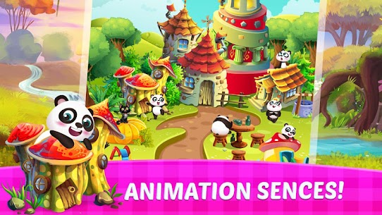 Panda Solitaire Match 4
