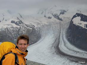 Photo: glacier below Breithorn