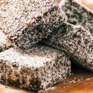 Easy Lamington Slice.
