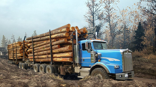 Code Triche Heavy Logging Cargo Truck Transport Simulator APK MOD screenshots 3