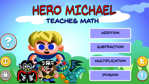 Hero Michael Teaches Math - screenshot