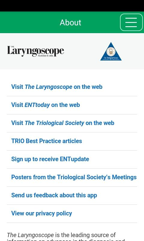 The Laryngoscope- screenshot