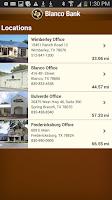 Screenshot of Blanco Bank