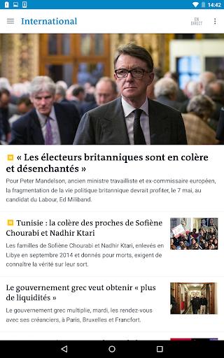 Le Monde, l'info en continu screenshot 16