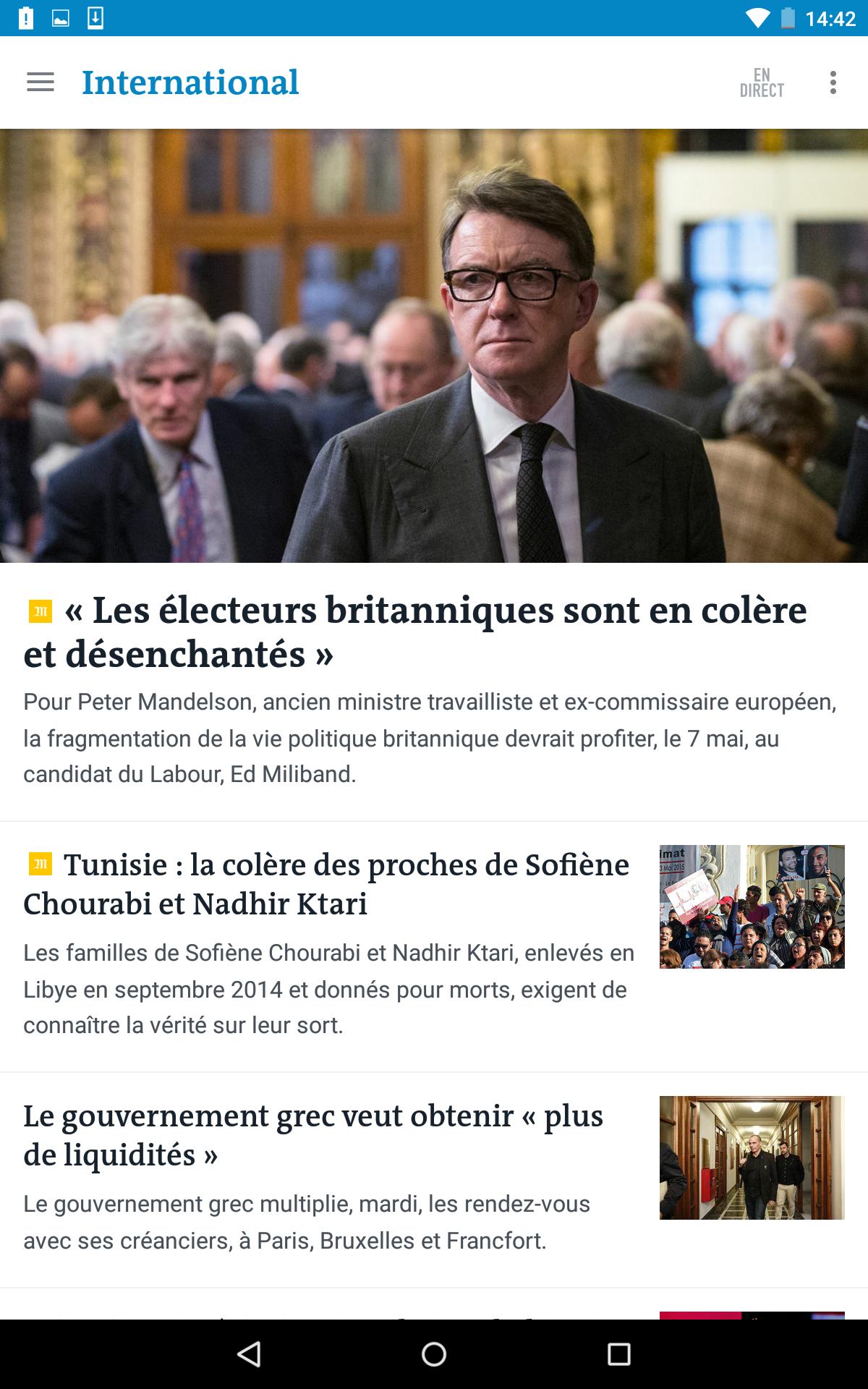 Le Monde, l'info en continu screenshot #17