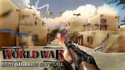 Code Triche World War Army Glorious Duty WW2 Shooter APK MOD screenshots 4