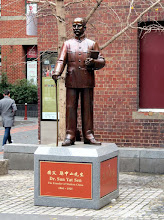 Photo: Melbourne - Chinatown, statue of Dr. Sun Yat Sen